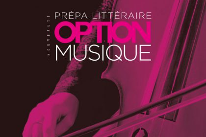CPGE : option Musique