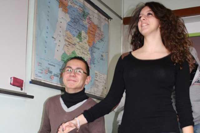Petit aperçu du passage de notre assistante d'espagnol María