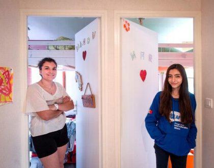 Maria découvre la vie à la française dans une famille de Villebret