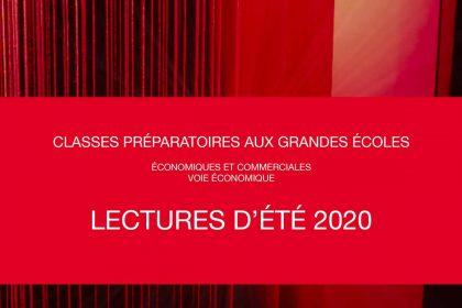 Lectures d'été 2020